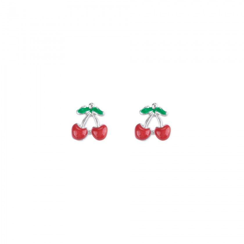 Brincos cerejas