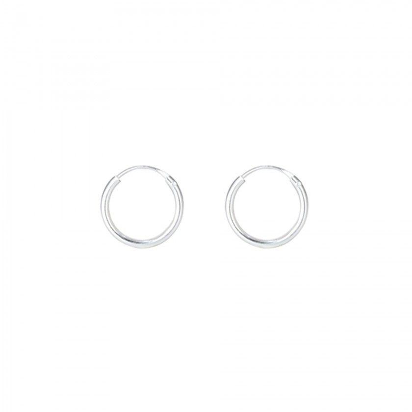 Silver steel rings