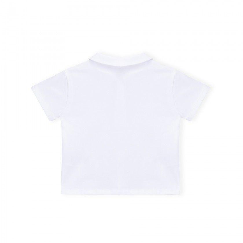 Pólo bebé algodão Intemporal