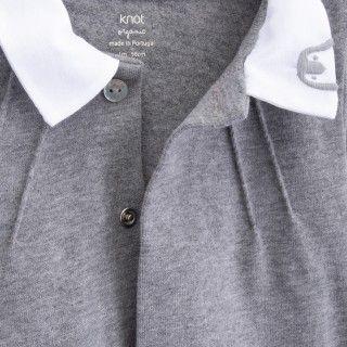Babygrow recém-nascido algodão orgânico Kenickie