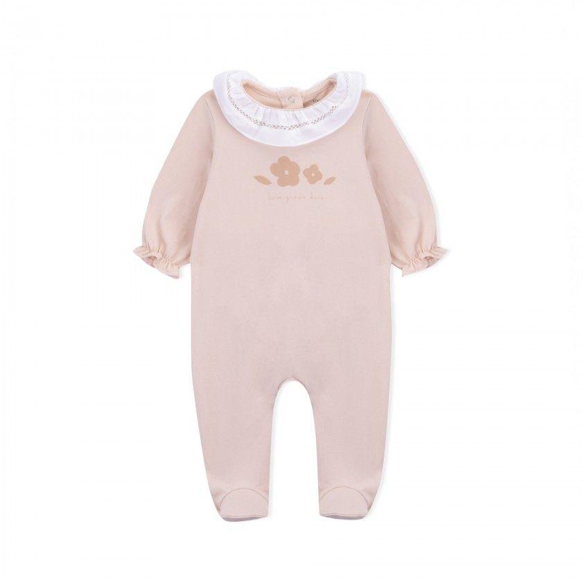Babygrow recém-nascido algodão orgânico Jan