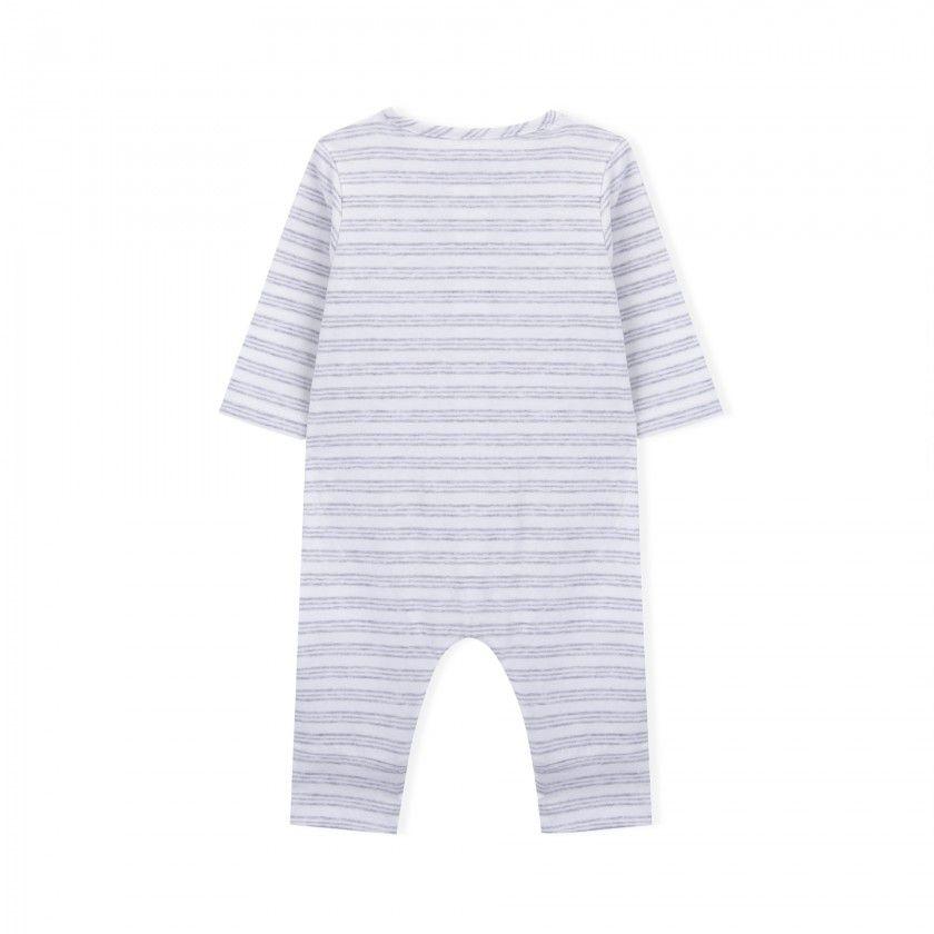 Newborn babygrow organic cotton Remy