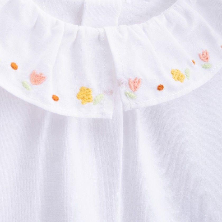 Baby blouse organic cotton Tamara