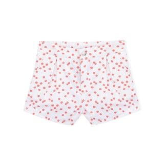 Girl shorts twill Cherry Tomato