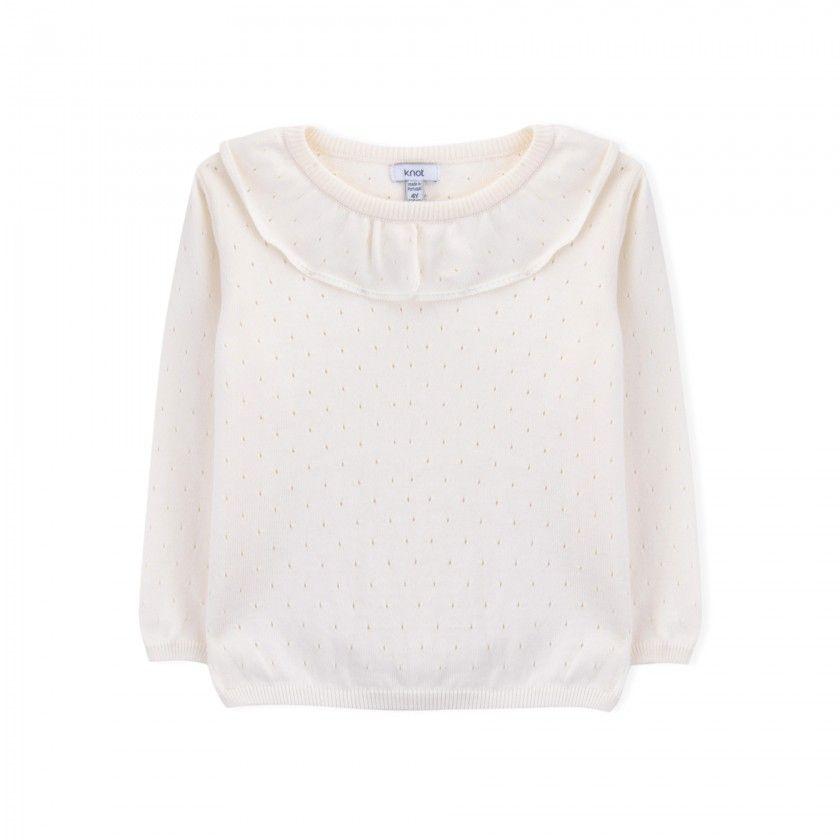 Camisola menina tricot Nicole