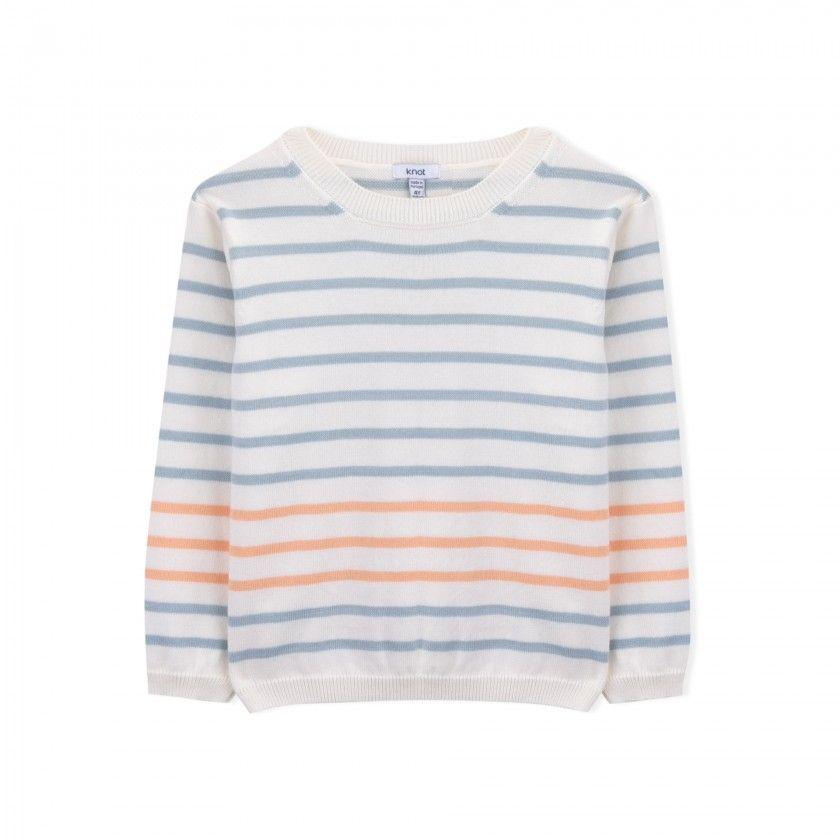 Camisola menino tricot Navy