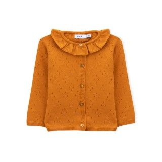 Baby coat knitted Deanna