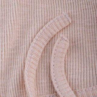 Touca recém-nascido tricot Mae