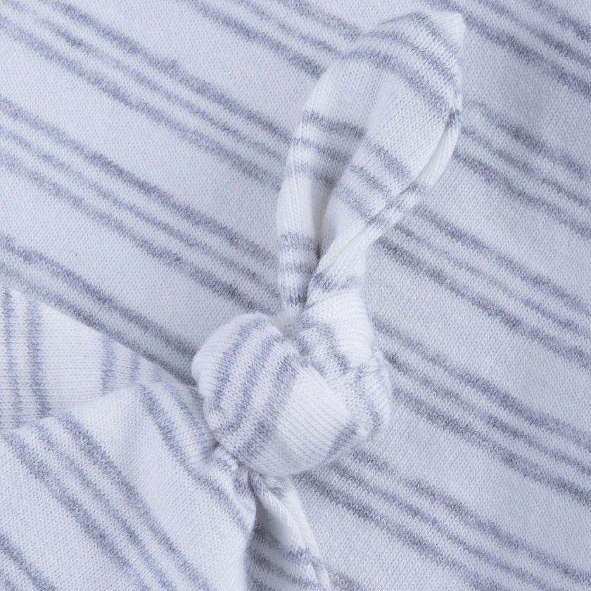 Cotton hat newborn Knot