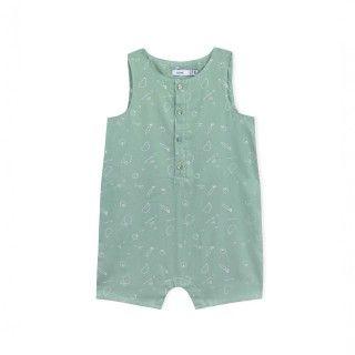 Jumpsuit baby organic cotton Flik