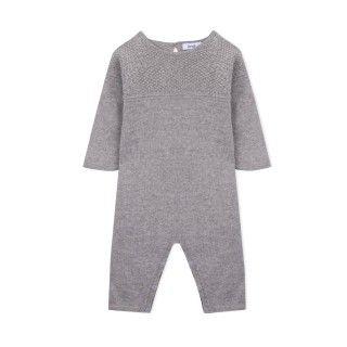Macacão recém-nascido tricot Jesse