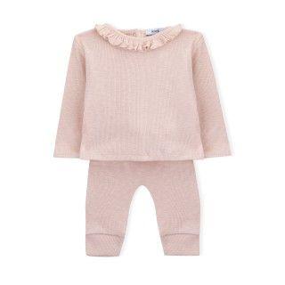 Conjunto camisola e calças recém-nascido Nelly