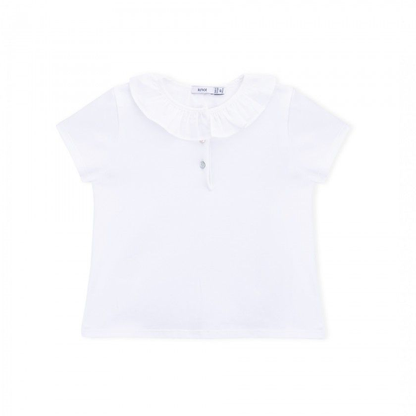 Polo girl organic cotton Leslie
