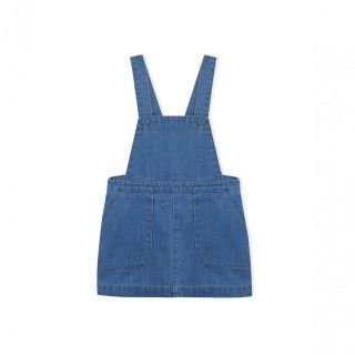 Pinafore dress denim Carol
