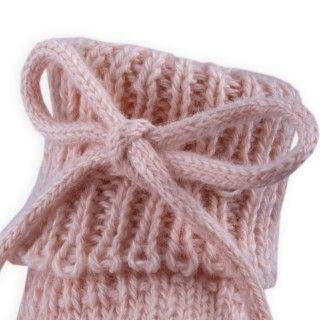 Botinhas recém-nascido tricot Marian