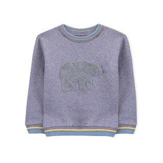 Boy sweatshirt organic cotton Urso Polar