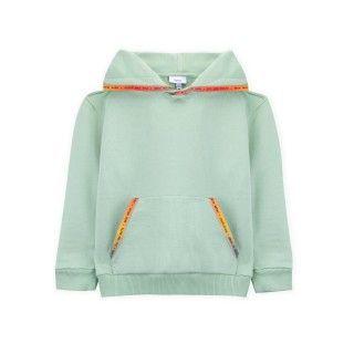 Boy sweatshirt organic cotton Read my rainbown