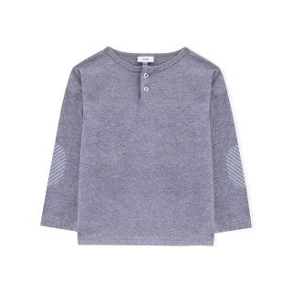 Boy long sleeve t-shirt organic cotton Henley