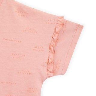 T-shirt manga curta menina algodão orgânico Manifesto Gal