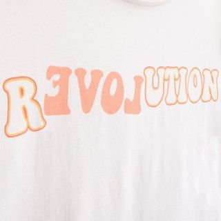 Girl short sleeve t-shirt organic cotton R(evol)ution