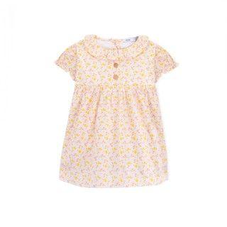 Baby dress organic cotton Flower Power