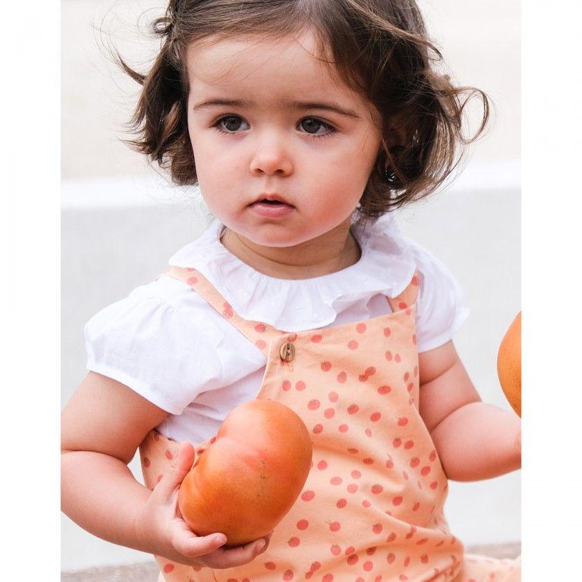 Baby blouse cotton Alicia