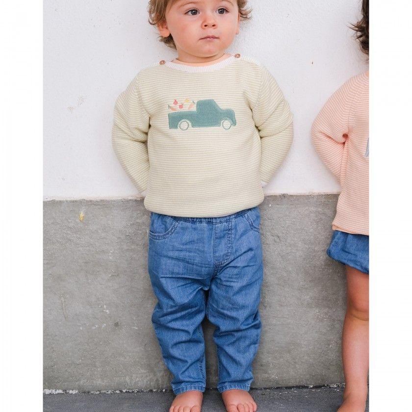 Calças bebé ganga Dylan