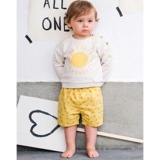 Calções bebé algodão Cargo