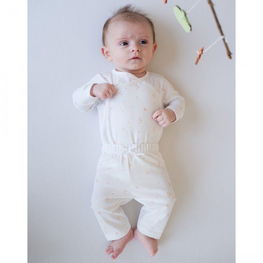 Calças recém-nascido algodão Jersey