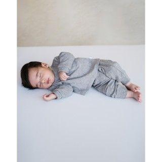 Set newborn organic ribbed Archie