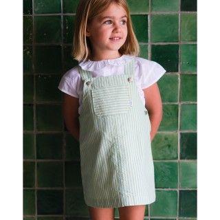 Pinafore dress cotton Megan