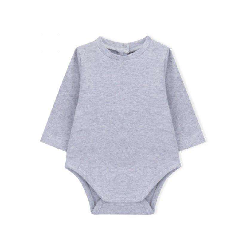 Body manga comprida bebé Hikari