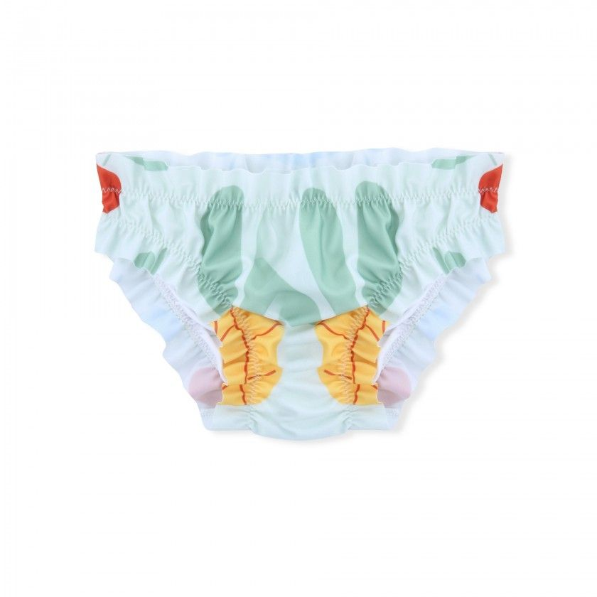 Bathing briefs baby Forest Flowers