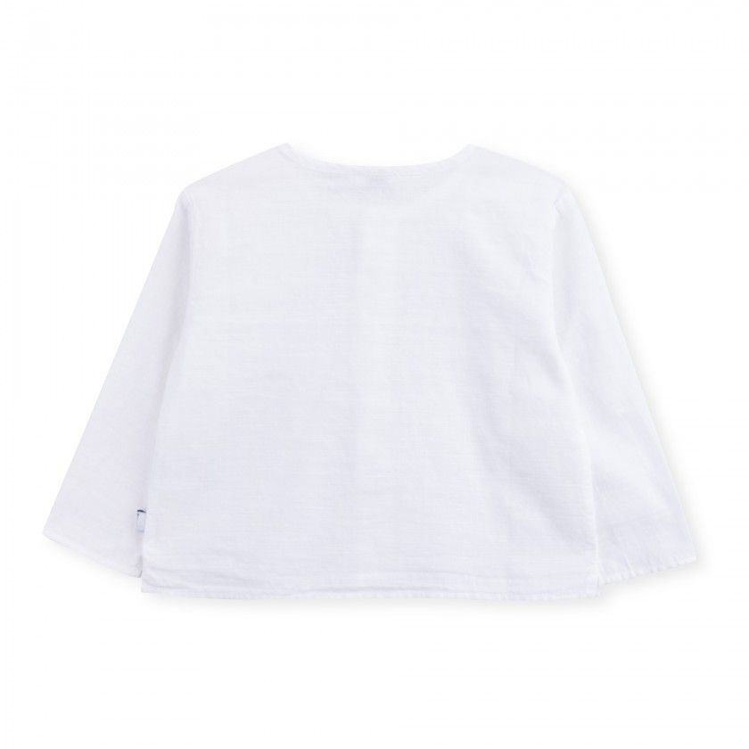 Camisa bebé algodão Liam