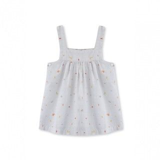 Baby pinafore dress cotton Music