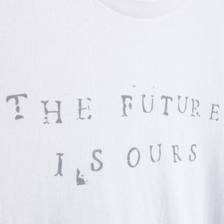 Boy short sleeve t-shirt organic cotton Future is ours