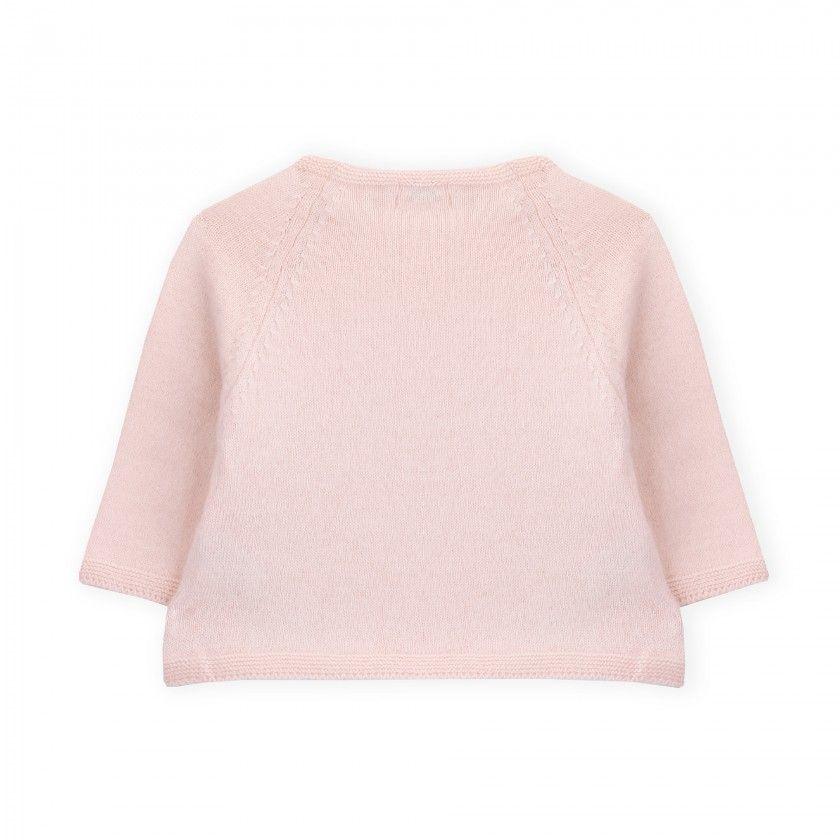 Sweater newborn tricot Ajours