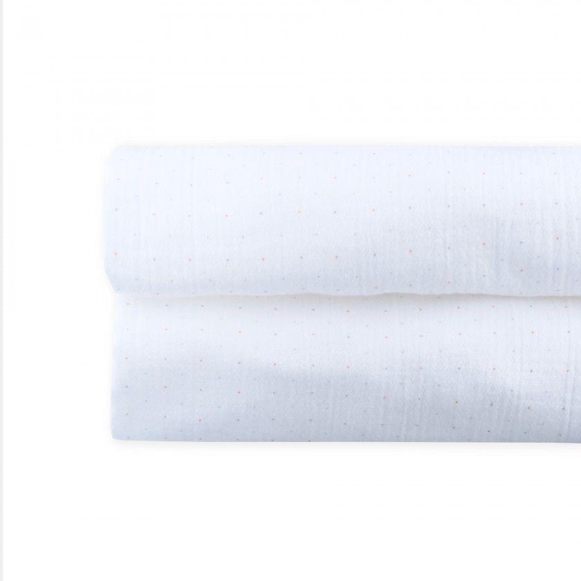 Fralda pano algodão Estampada