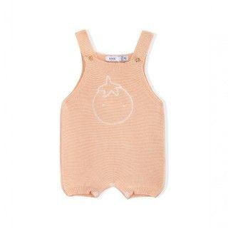 Macacão recém-nascido tricot Sands