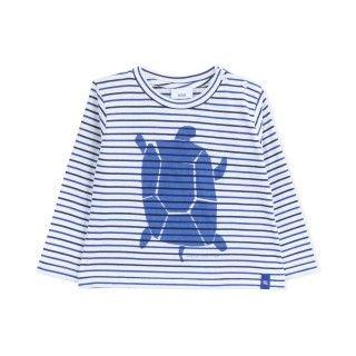 T-shirt manga comprida algodão orgânico Sloane
