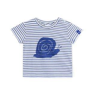 T-shirt manga curta algodão orgânico Sage
