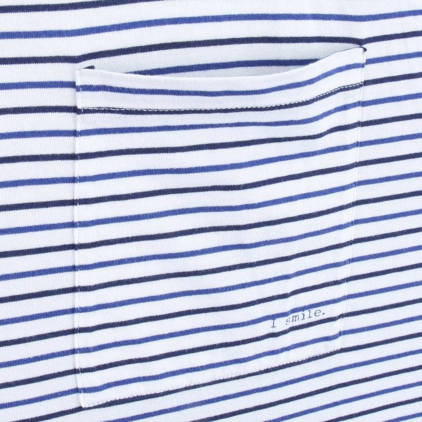 T-shirt Pai manga curta algodão orgânico Skipper