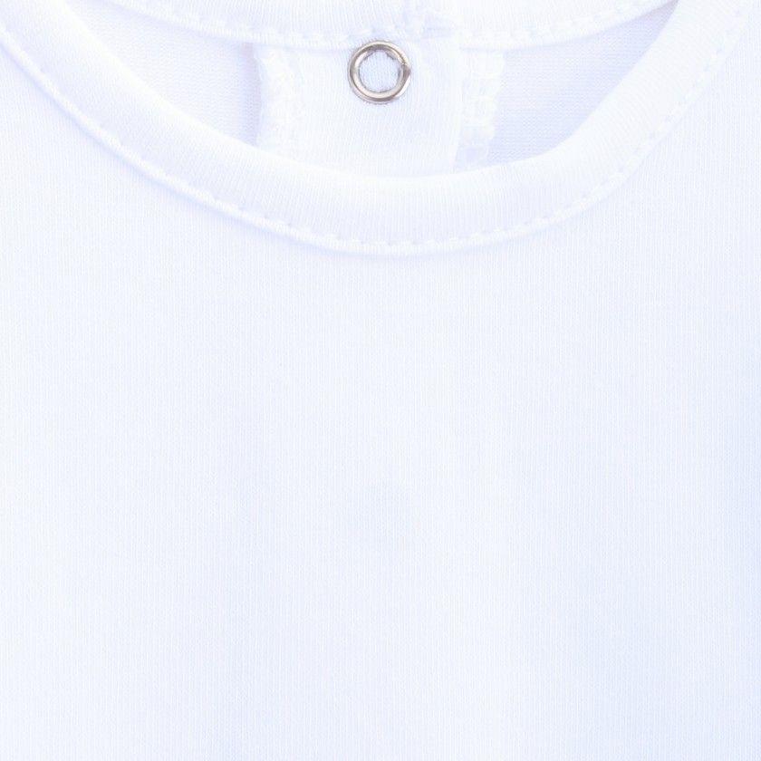 Body manga comprida algodão Intemporal