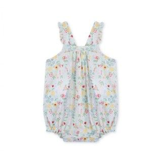 Romper baby cotton Forest Florwers