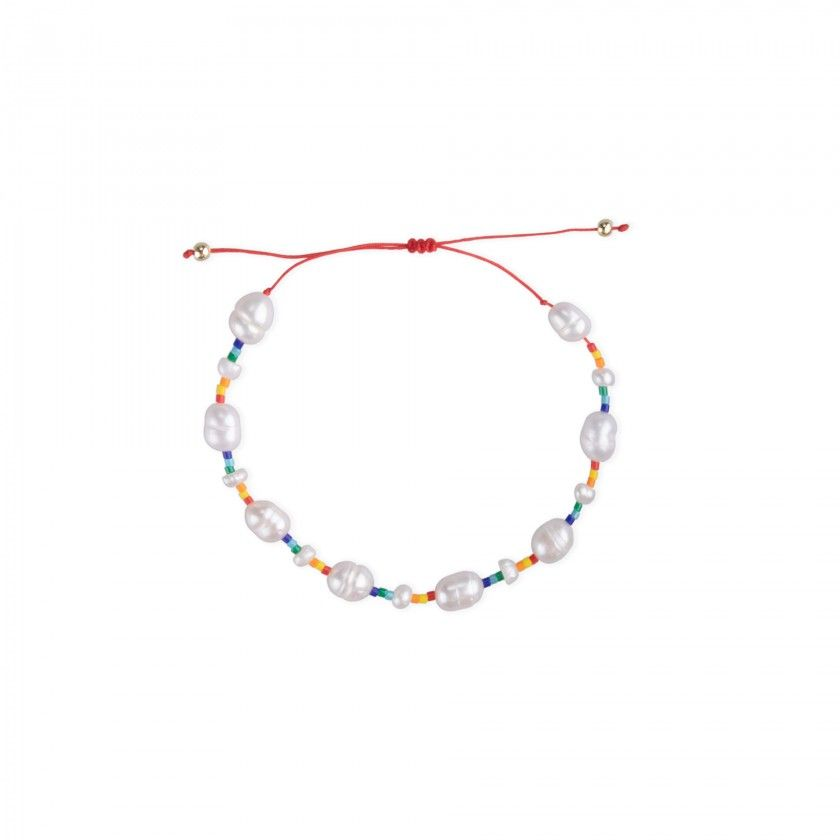 Mini beads and pearls bracelet