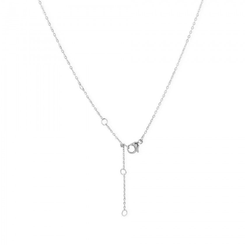 X steel necklace
