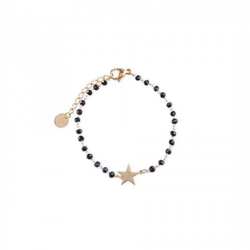 Beaded star bracelet