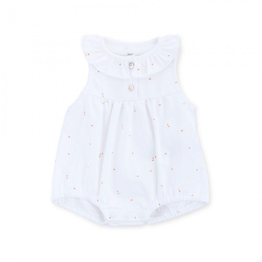 Barboteuse bebé algodão orgânico Malou