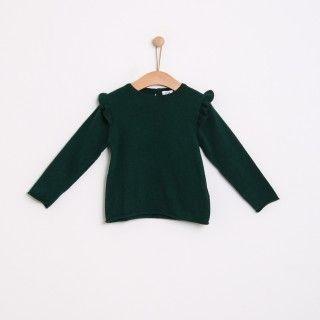 Camisola menina tricot Frill