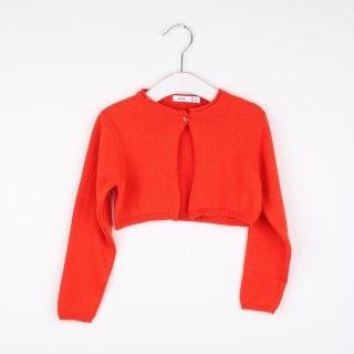 Bolero menina tricot Clara